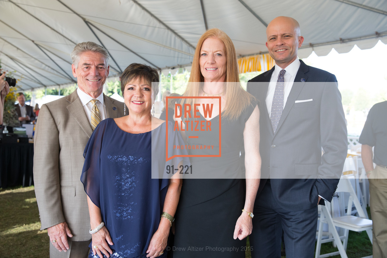 Jay Sinclair, Vilma Sinclair, Peggy Munkdale, Steve Keirn, Menlo Charity Horse Show Gala, Menlo Circus Club. 190 Park Lane, August 7th, 2015,Drew Altizer, Drew Altizer Photography, full-service agency, private events, San Francisco photographer, photographer california