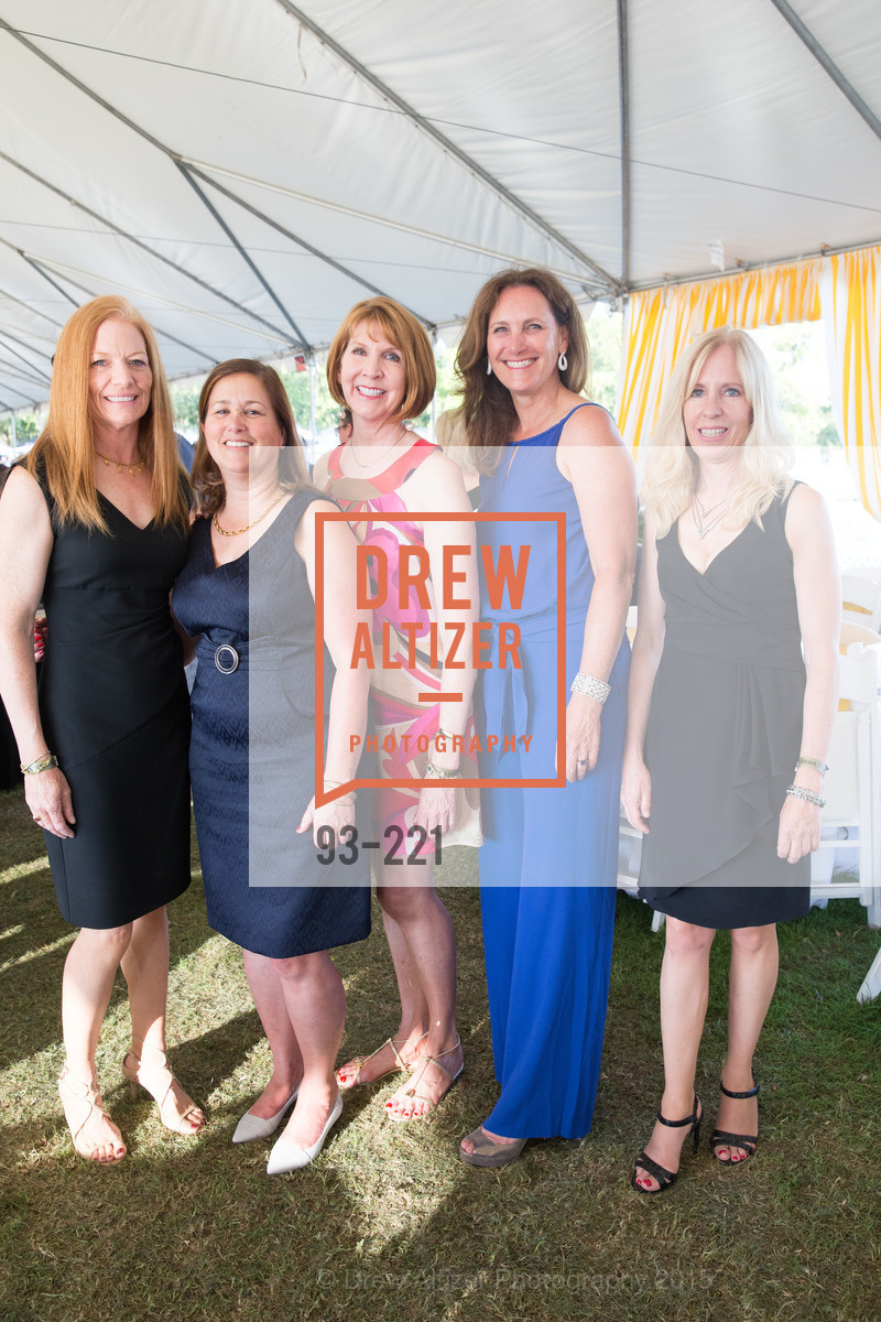 Peggy Munkdale, Judy Quackenbush, Suzanne Cheves, Suzanne Rischman, Sue Sadlier, Menlo Charity Horse Show Gala, Menlo Circus Club. 190 Park Lane, August 7th, 2015,Drew Altizer, Drew Altizer Photography, full-service agency, private events, San Francisco photographer, photographer california