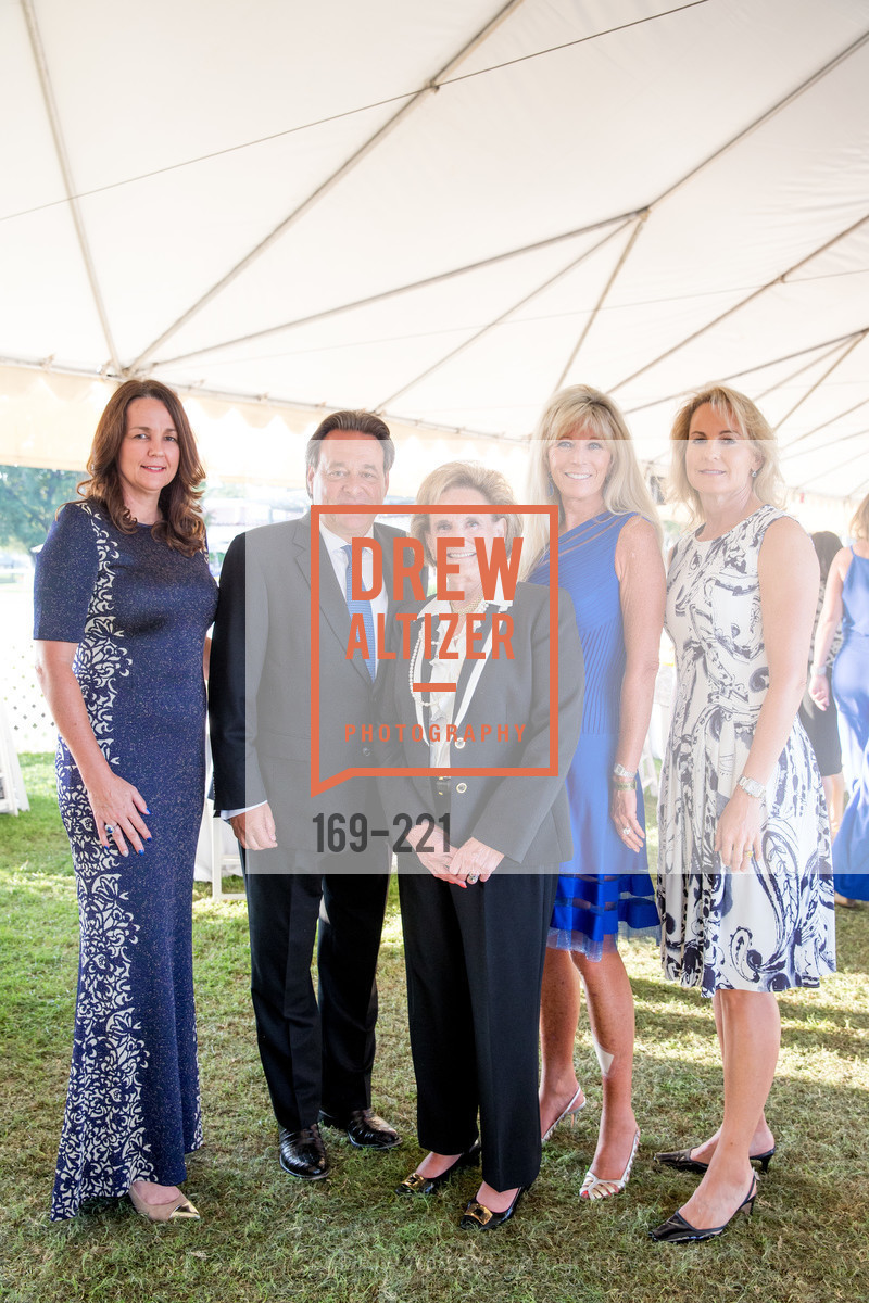 Connie Silver, Stephen Silver, Betsy Glikbarg, Susan Martin, Catherine Harvey, Menlo Charity Horse Show Gala, Menlo Circus Club. 190 Park Lane, August 7th, 2015,Drew Altizer, Drew Altizer Photography, full-service agency, private events, San Francisco photographer, photographer california