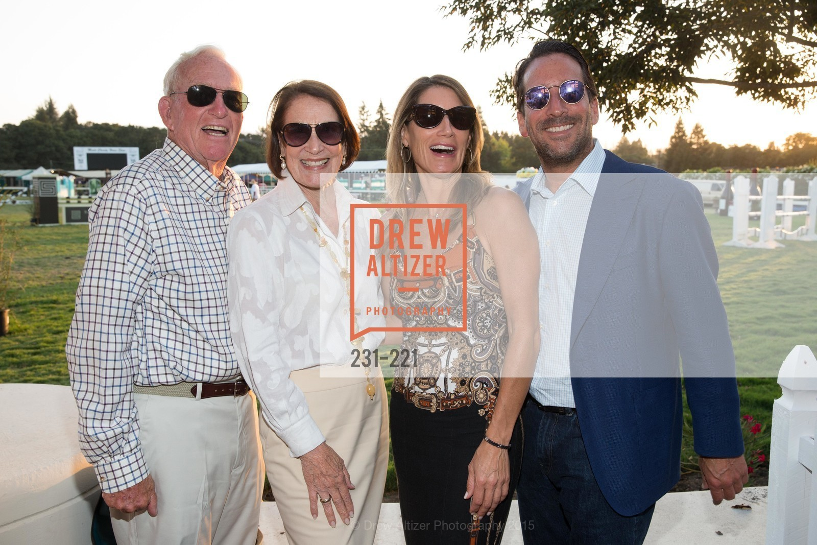 Mack McInnis, Jane McInnis, Allison Scherer, Ethan Topper, Menlo Charity Horse Show Gala, Menlo Circus Club. 190 Park Lane, August 7th, 2015,Drew Altizer, Drew Altizer Photography, full-service agency, private events, San Francisco photographer, photographer california