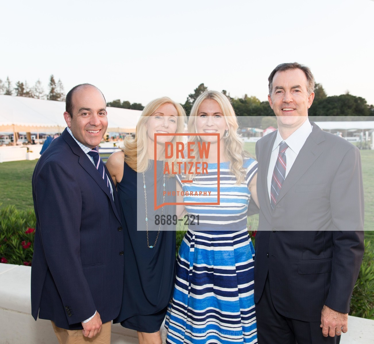 Greg Waldorf, Victoria O'Hara, Emily Waldorf, Ryan Michael O'Hara, Menlo Charity Horse Show Gala, Menlo Circus Club. 190 Park Lane, August 7th, 2015,Drew Altizer, Drew Altizer Photography, full-service event agency, private events, San Francisco photographer, photographer California