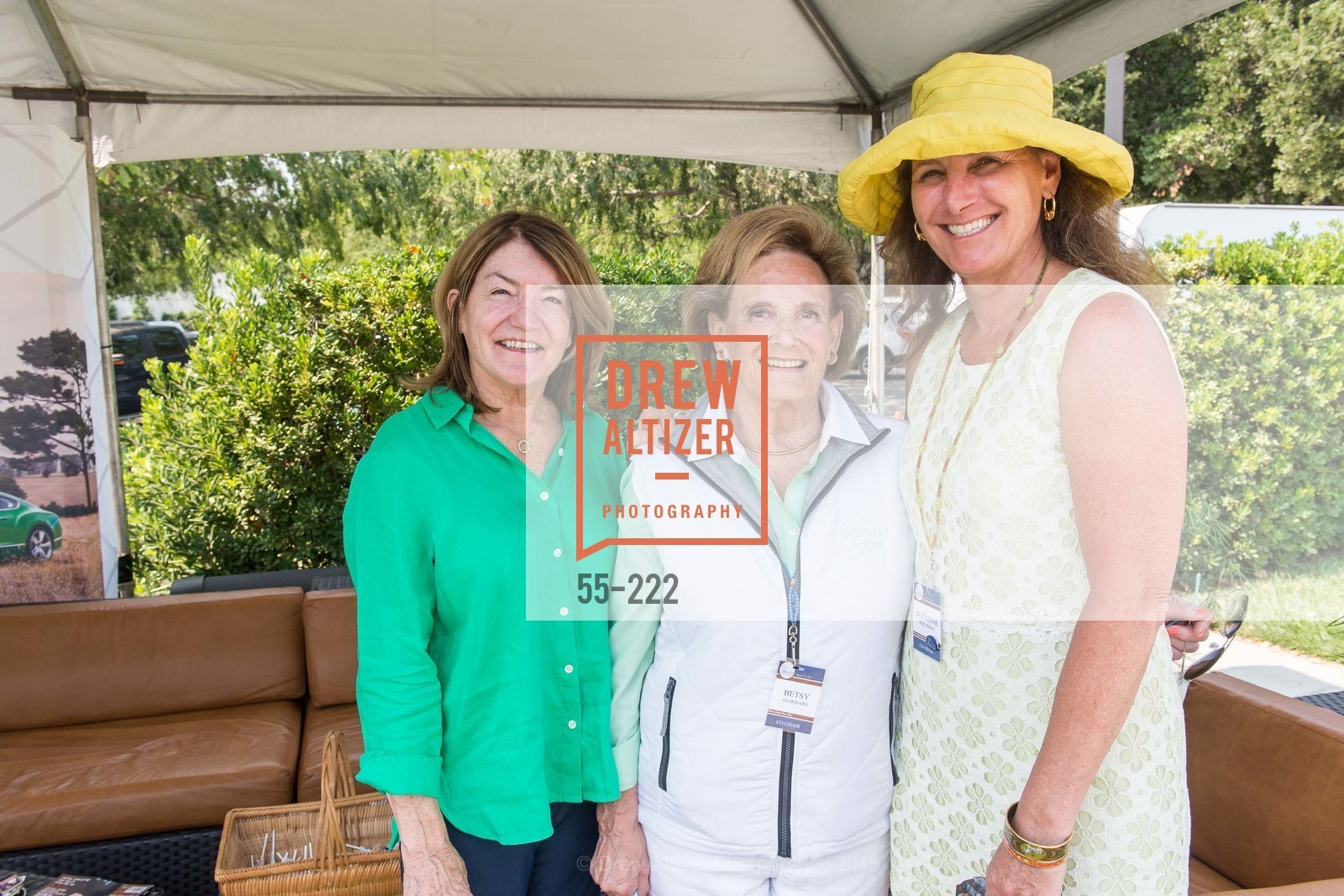 Barbara Hiller, Betsy Glikbarg, Suzanne Rischman, Bentley Tailgate Party Benefiting the Menlo Charity Horse Show, Menlo Circus Club, August 8th, 2015,Drew Altizer, Drew Altizer Photography, full-service event agency, private events, San Francisco photographer, photographer California