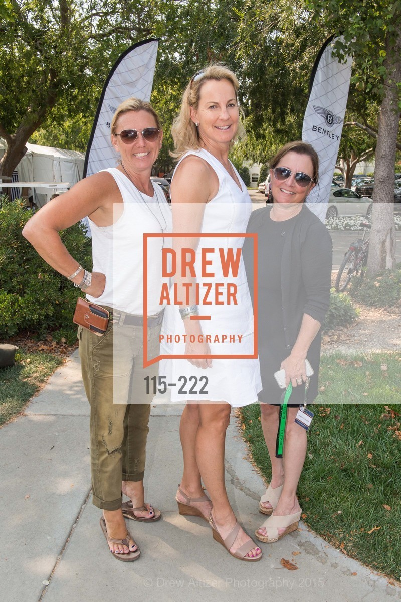 Lisa Newton, Catherine Harvey, Cerri Guthrie, Bentley Tailgate Party Benefiting the Menlo Charity Horse Show, Menlo Circus Club, August 8th, 2015,Drew Altizer, Drew Altizer Photography, full-service event agency, private events, San Francisco photographer, photographer California