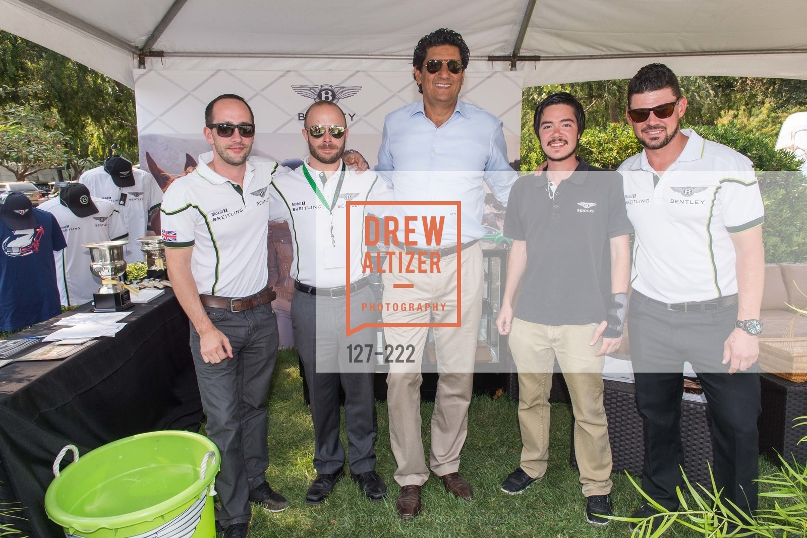 Jamie Morrow, Joey Tipton, Enzo DeBernardo, Tyler Comes, Benny Moon, Bentley Tailgate Party Benefiting the Menlo Charity Horse Show, Menlo Circus Club, August 8th, 2015,Drew Altizer, Drew Altizer Photography, full-service agency, private events, San Francisco photographer, photographer california