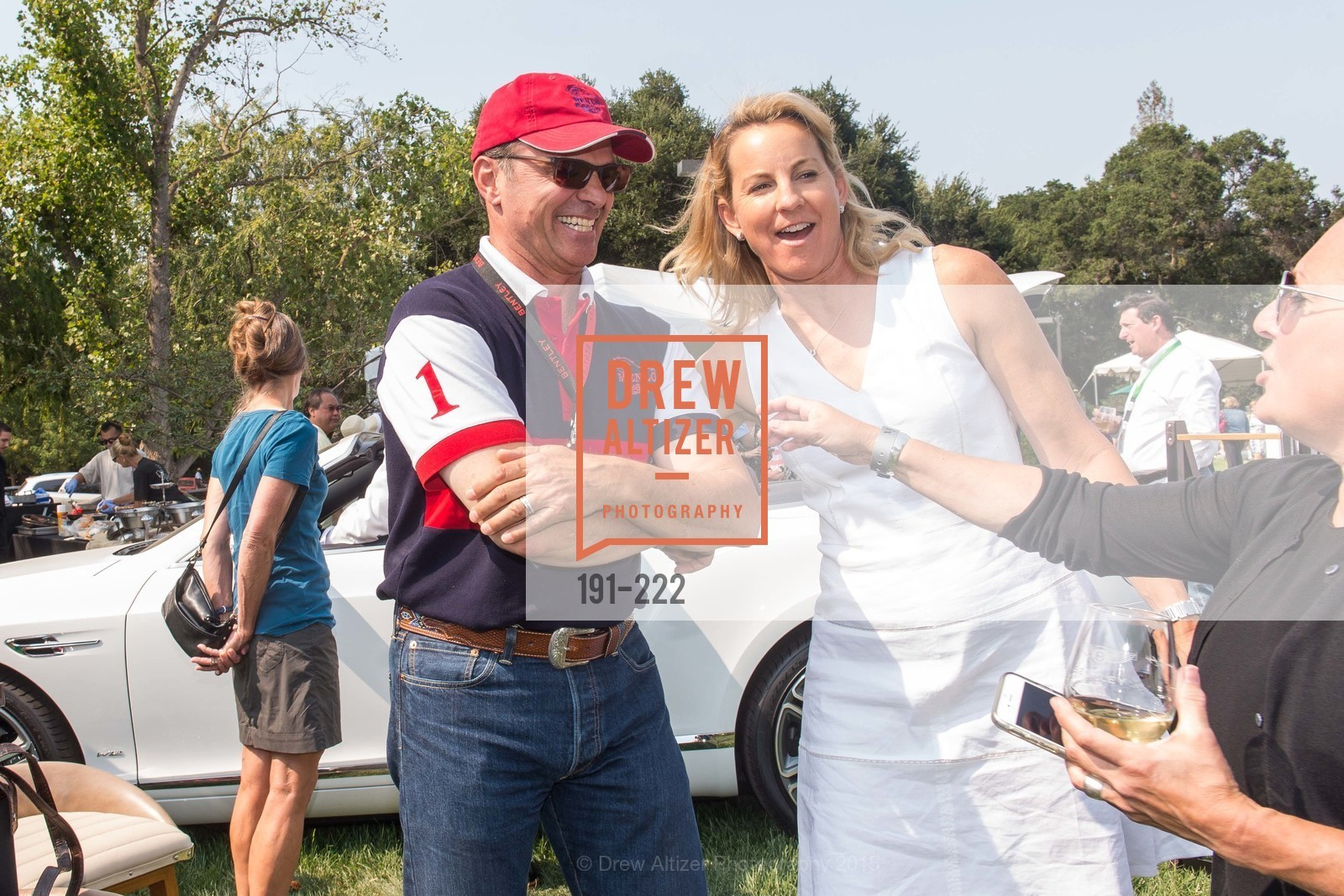 Don DeFranco, Catherine Harvey, Bentley Tailgate Party Benefiting the Menlo Charity Horse Show, Menlo Circus Club, August 8th, 2015,Drew Altizer, Drew Altizer Photography, full-service agency, private events, San Francisco photographer, photographer california
