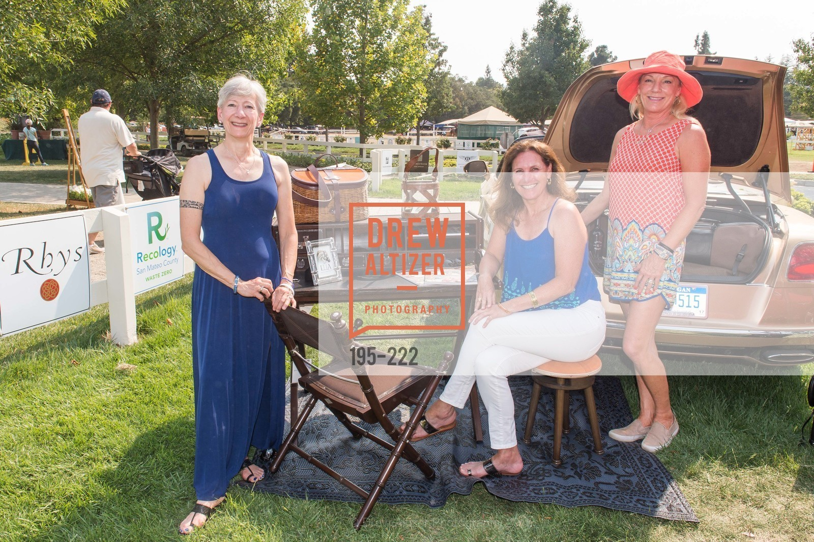 Wendy Baum, Suzanne Rischman, Jen McDonald, Bentley Tailgate Party Benefiting the Menlo Charity Horse Show, Menlo Circus Club, August 8th, 2015,Drew Altizer, Drew Altizer Photography, full-service agency, private events, San Francisco photographer, photographer california