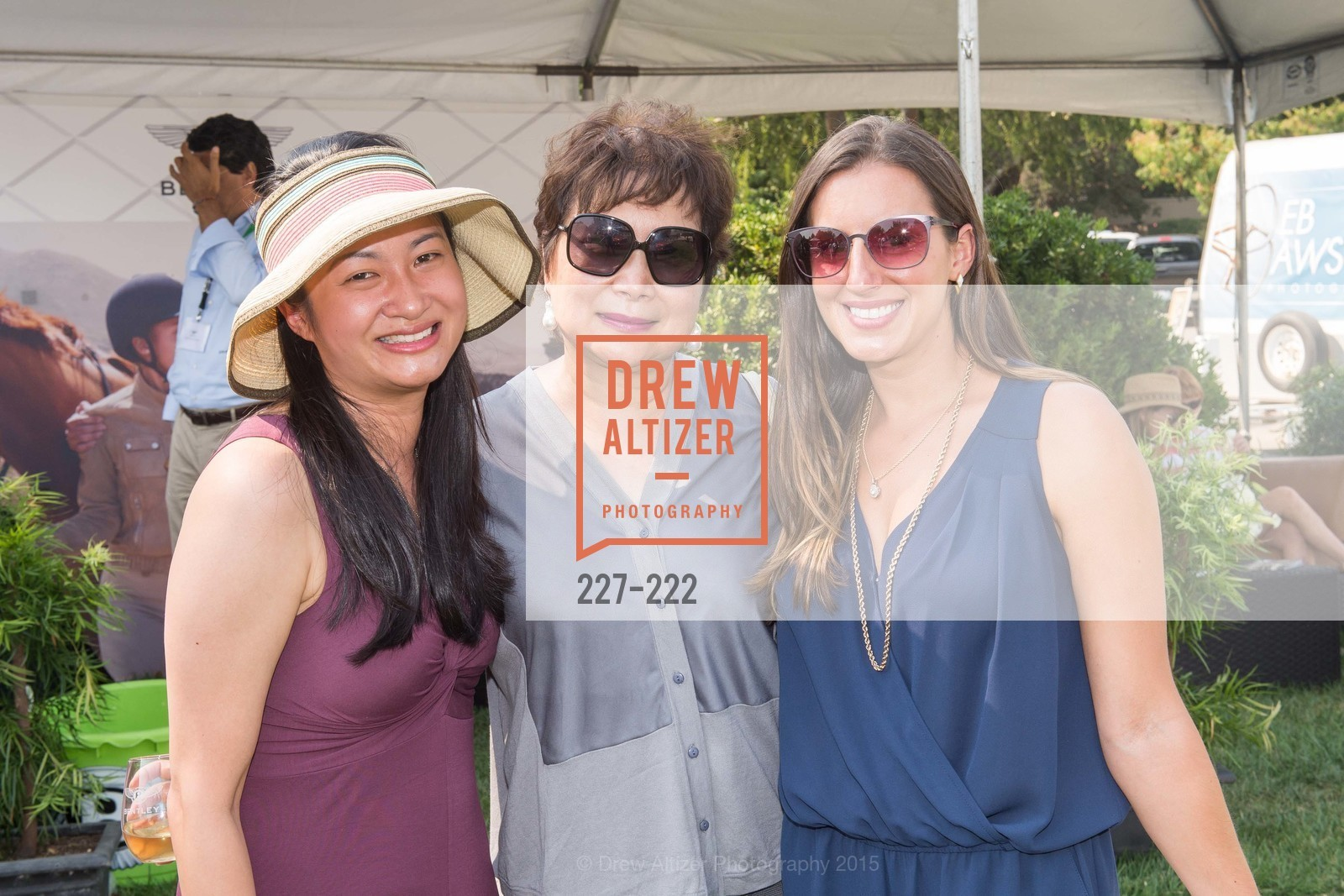 Lily Chung, Rita Yang, Rachel Arnold, Bentley Tailgate Party Benefiting the Menlo Charity Horse Show, Menlo Circus Club, August 8th, 2015,Drew Altizer, Drew Altizer Photography, full-service agency, private events, San Francisco photographer, photographer california