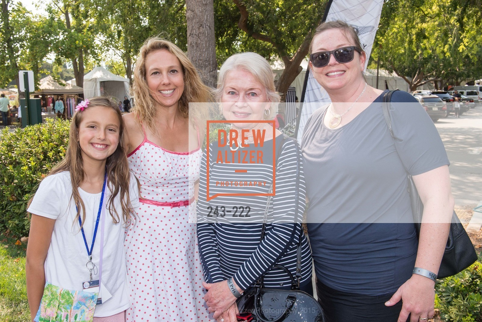 Grace Szalay, Juno Szalay, Pam Brandin, Alexandra Roach, Bentley Tailgate Party Benefiting the Menlo Charity Horse Show, Menlo Circus Club, August 8th, 2015,Drew Altizer, Drew Altizer Photography, full-service agency, private events, San Francisco photographer, photographer california