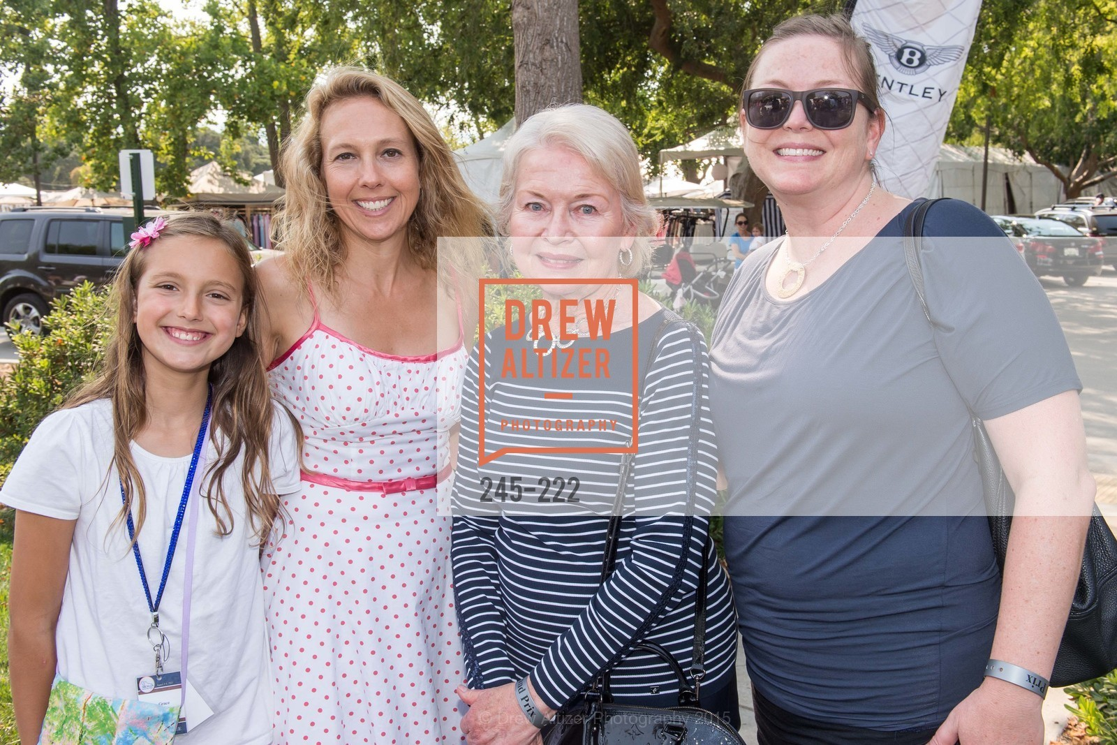Grace Szalay, Juno Szalay, Pam Brandin, Alexandra Roach, Bentley Tailgate Party Benefiting the Menlo Charity Horse Show, Menlo Circus Club, August 8th, 2015,Drew Altizer, Drew Altizer Photography, full-service event agency, private events, San Francisco photographer, photographer California