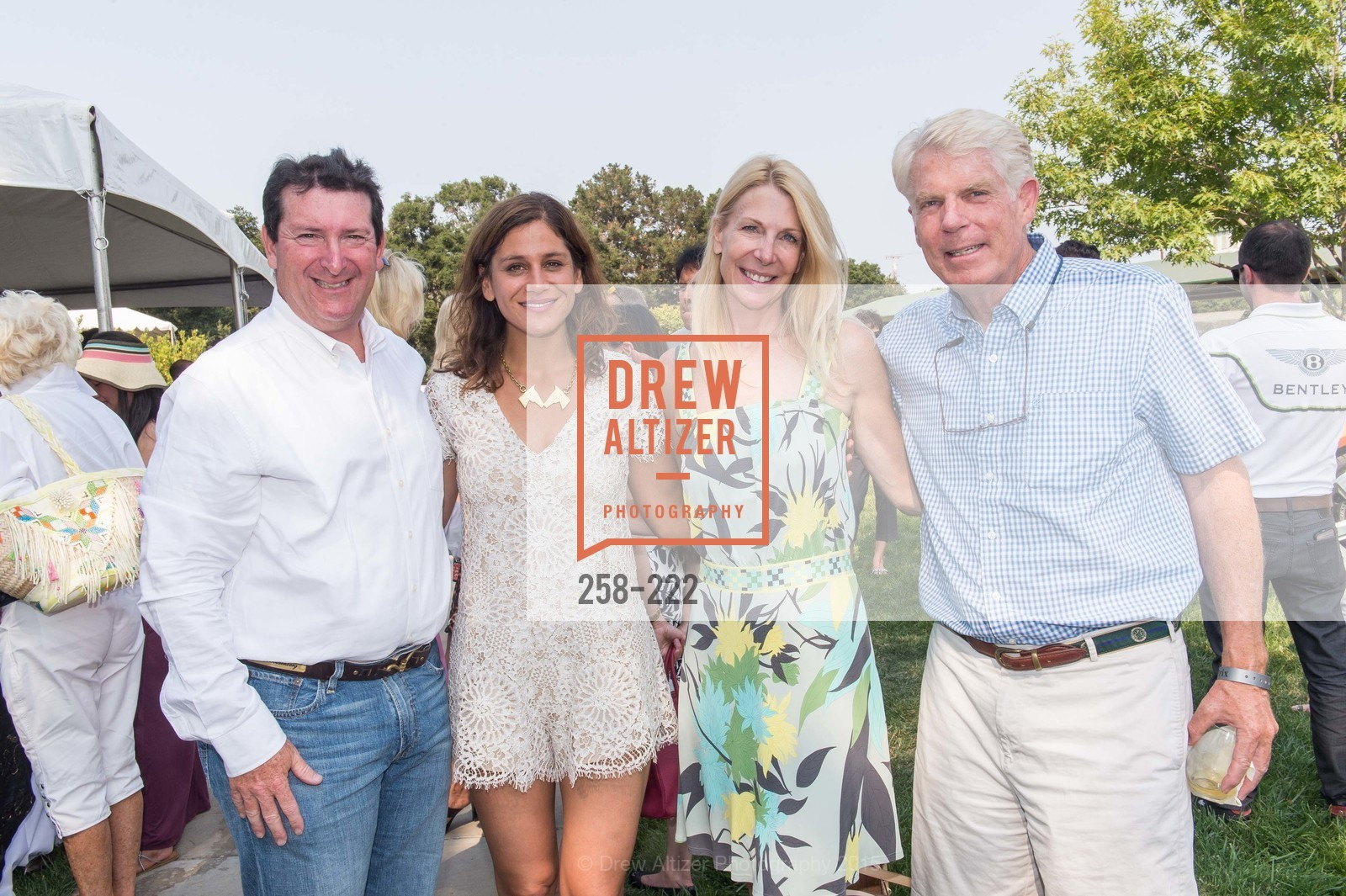 Steve Goldenburg, Elizabeth Welborn, Catherine Hansen, Robert Bradford, Bentley Tailgate Party Benefiting the Menlo Charity Horse Show, Menlo Circus Club, August 8th, 2015,Drew Altizer, Drew Altizer Photography, full-service agency, private events, San Francisco photographer, photographer california