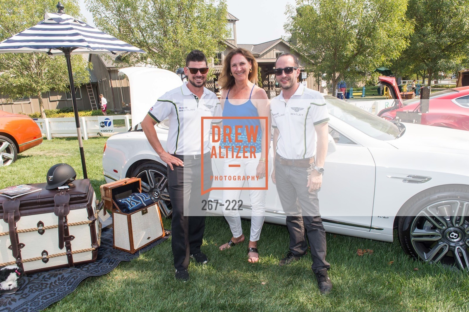 Benny Moon, Suzanne Rischman, Joey Tipton, Bentley Tailgate Party Benefiting the Menlo Charity Horse Show, Menlo Circus Club, August 8th, 2015,Drew Altizer, Drew Altizer Photography, full-service agency, private events, San Francisco photographer, photographer california