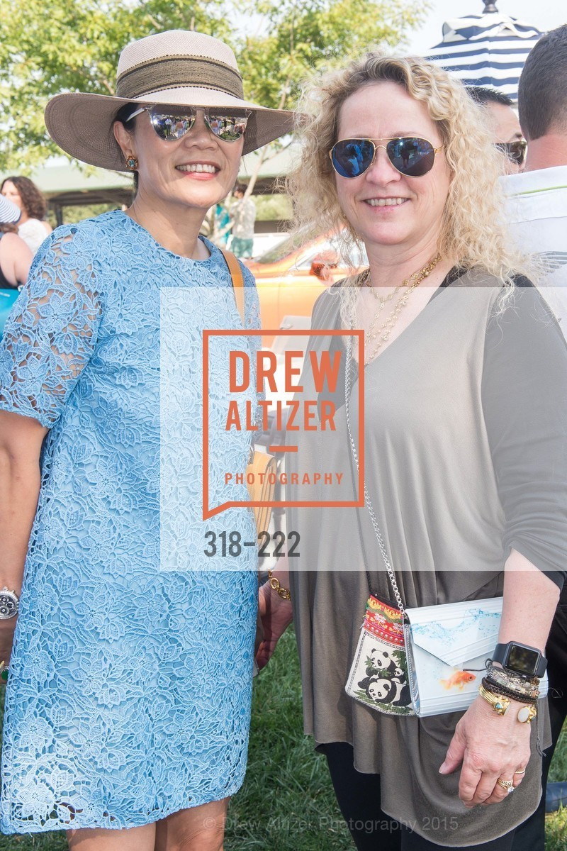 Xiaojun Lee, Linda Salvador, Bentley Tailgate Party Benefiting the Menlo Charity Horse Show, Menlo Circus Club, August 8th, 2015,Drew Altizer, Drew Altizer Photography, full-service agency, private events, San Francisco photographer, photographer california