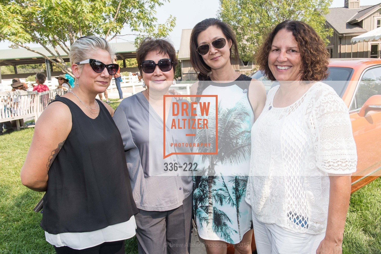 Pamela Diaz, Rita Yang, Lavinia Branden, Dorene Loew, Bentley Tailgate Party Benefiting the Menlo Charity Horse Show, Menlo Circus Club, August 8th, 2015,Drew Altizer, Drew Altizer Photography, full-service agency, private events, San Francisco photographer, photographer california