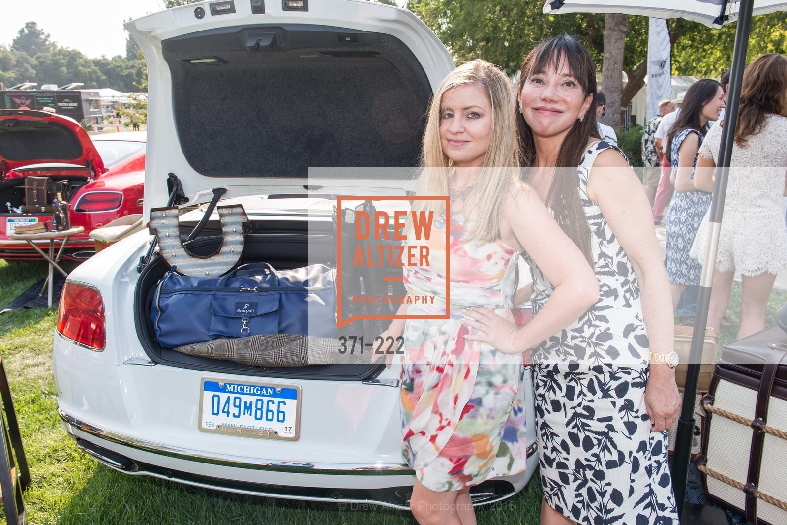 Julie Hall, France Szeto, Bentley Tailgate Party Benefiting the Menlo Charity Horse Show, Menlo Circus Club, August 8th, 2015,Drew Altizer, Drew Altizer Photography, full-service agency, private events, San Francisco photographer, photographer california