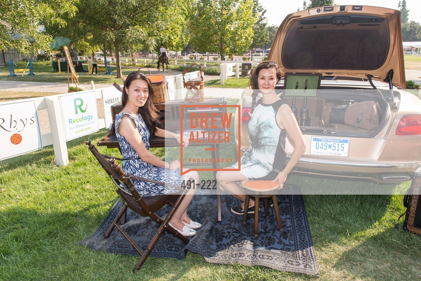 Melissa Lu, Lavinia Branden, Bentley Tailgate Party Benefiting the Menlo Charity Horse Show, Menlo Circus Club, August 8th, 2015,Drew Altizer, Drew Altizer Photography, full-service agency, private events, San Francisco photographer, photographer california