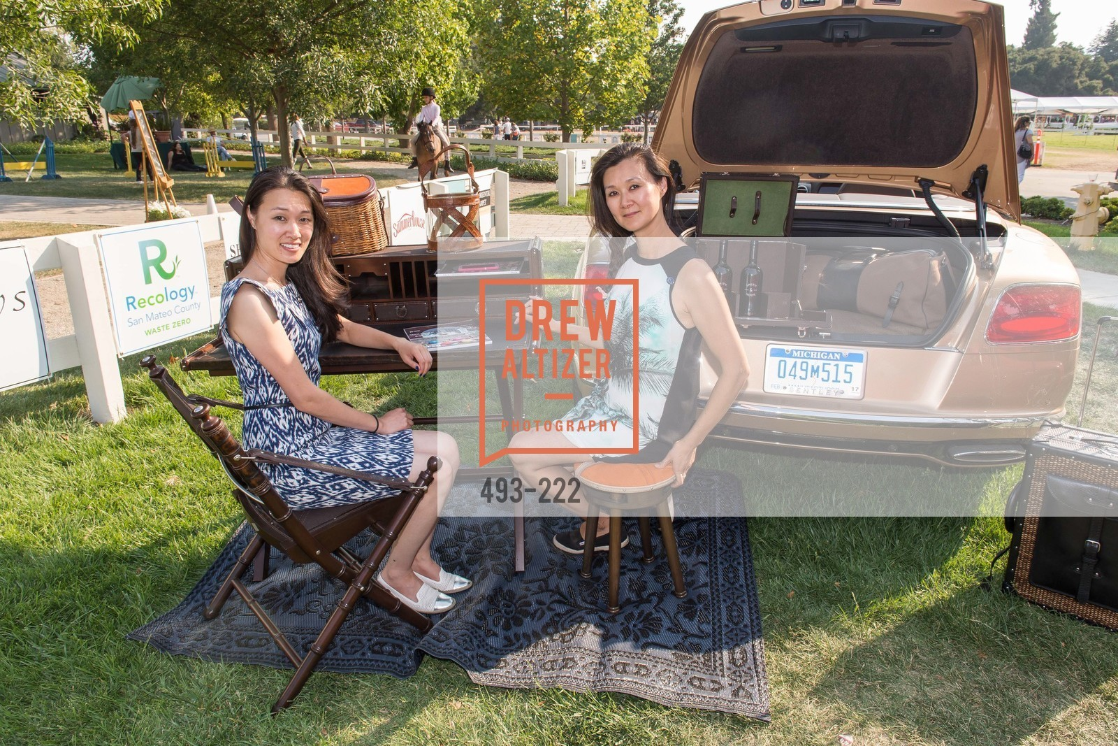 Melissa Lu, Lavinia Branden, Bentley Tailgate Party Benefiting the Menlo Charity Horse Show, Menlo Circus Club, August 8th, 2015,Drew Altizer, Drew Altizer Photography, full-service event agency, private events, San Francisco photographer, photographer California