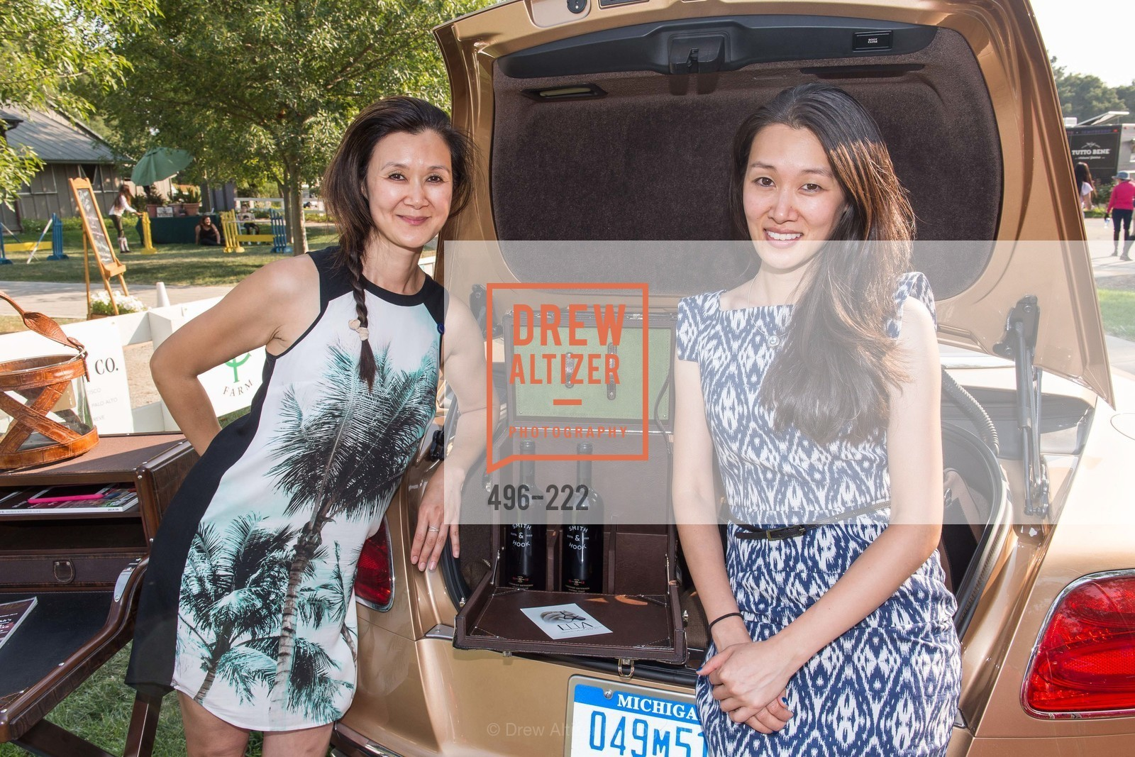 Lavinia Branden, Melissa Lu, Bentley Tailgate Party Benefiting the Menlo Charity Horse Show, Menlo Circus Club, August 8th, 2015,Drew Altizer, Drew Altizer Photography, full-service event agency, private events, San Francisco photographer, photographer California
