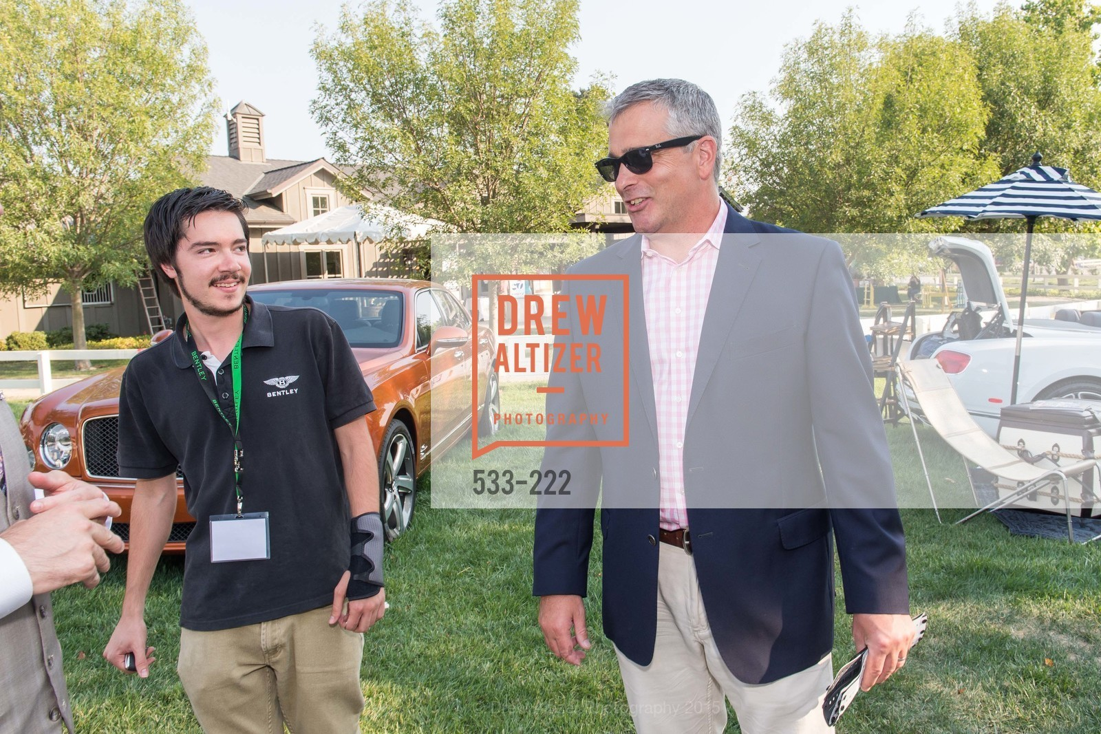 Tyler Comes, Kip Miles, Bentley Tailgate Party Benefiting the Menlo Charity Horse Show, Menlo Circus Club, August 8th, 2015,Drew Altizer, Drew Altizer Photography, full-service agency, private events, San Francisco photographer, photographer california