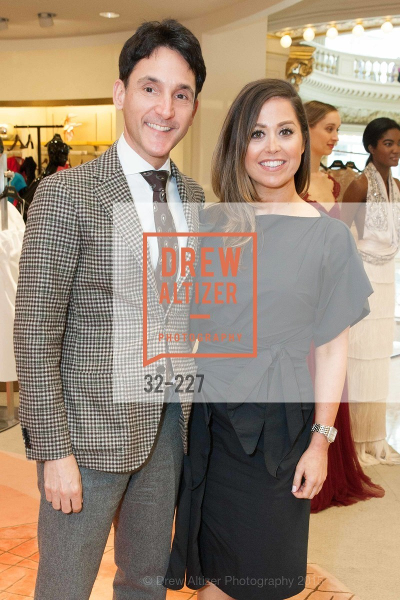 James Krohn, Shannon Blunden, Keren Craig Personal Appearance for Marchesa Fall Trunk Show, Neiman Marcus, May 7th, 2015,Drew Altizer, Drew Altizer Photography, full-service agency, private events, San Francisco photographer, photographer california