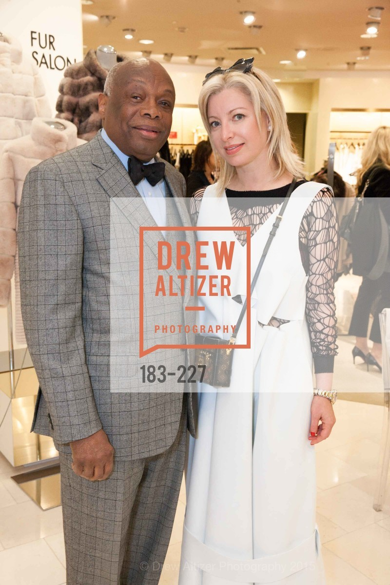 Willie Brown, Sonya Molodetskaya, Keren Craig Personal Appearance for Marchesa Fall Trunk Show, Neiman Marcus, May 7th, 2015,Drew Altizer, Drew Altizer Photography, full-service agency, private events, San Francisco photographer, photographer california