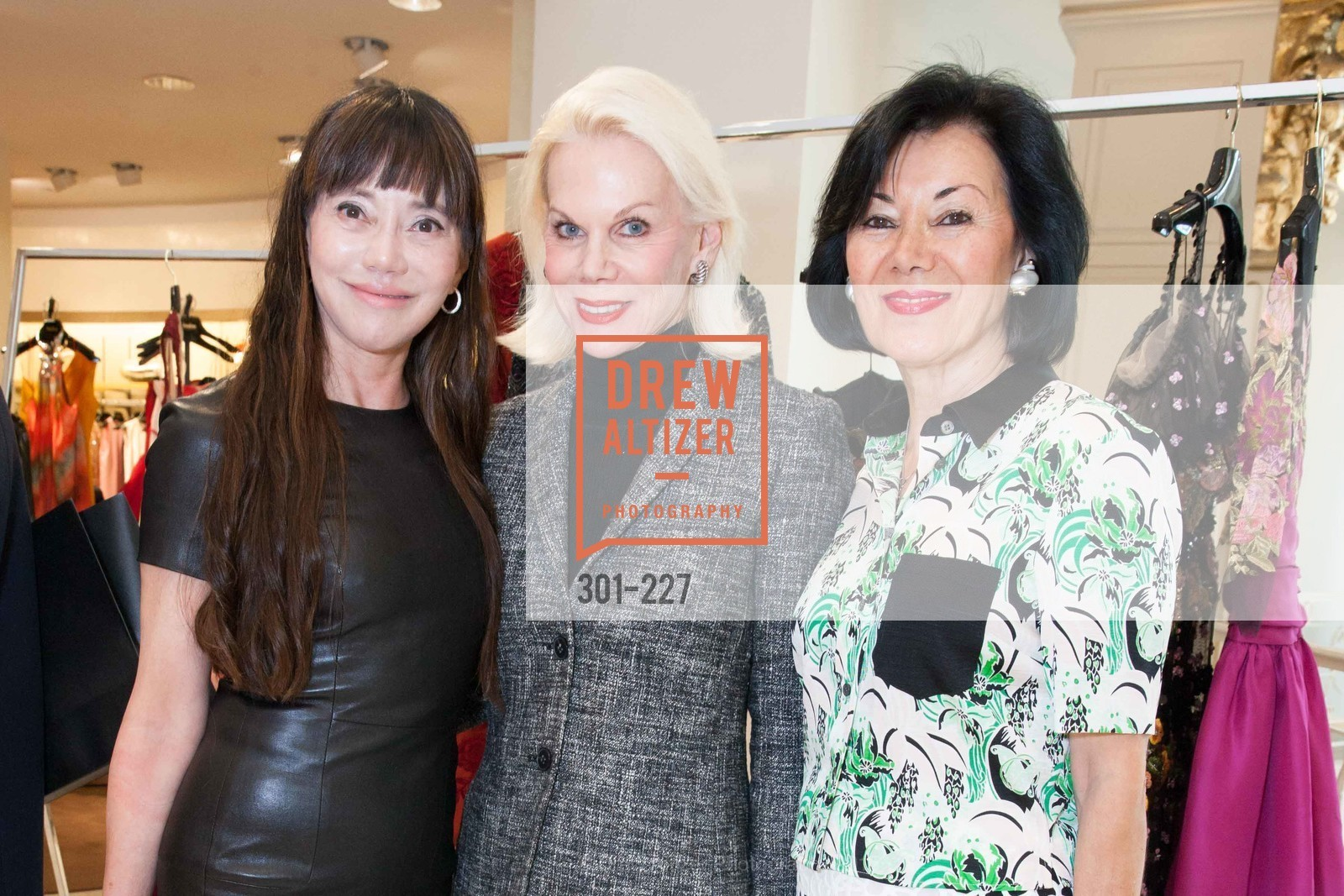 France Szeto, Sandra Farris, Nafiseh Lindberg, Keren Craig Personal Appearance for Marchesa Fall Trunk Show, Neiman Marcus, May 7th, 2015,Drew Altizer, Drew Altizer Photography, full-service agency, private events, San Francisco photographer, photographer california