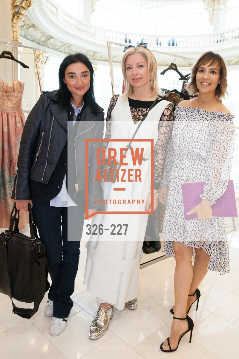 Olga Dubrovsky, Sonya Molodetskaya, Lora DuBain, Keren Craig Personal Appearance for Marchesa Fall Trunk Show, Neiman Marcus, May 7th, 2015,Drew Altizer, Drew Altizer Photography, full-service agency, private events, San Francisco photographer, photographer california