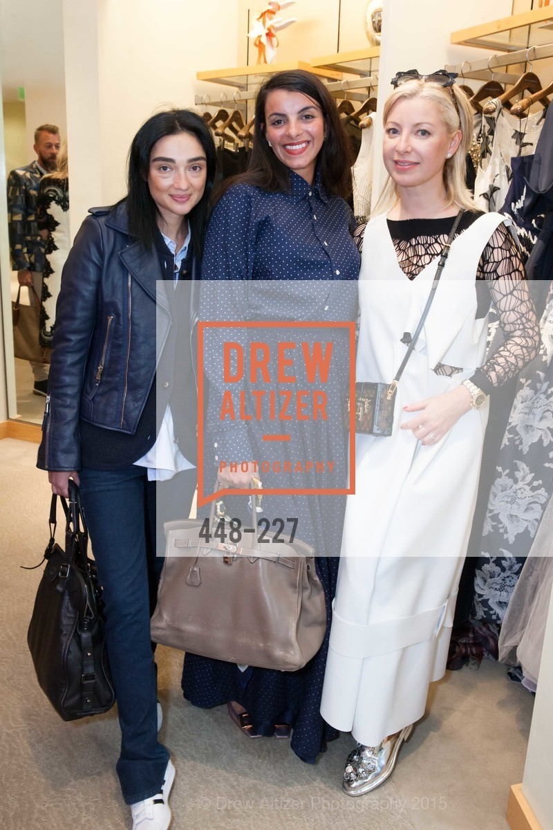 Olga Dubrovsky, Sonia Maria, Sonya Molodetskaya, Keren Craig Personal Appearance for Marchesa Fall Trunk Show, Neiman Marcus, May 7th, 2015,Drew Altizer, Drew Altizer Photography, full-service event agency, private events, San Francisco photographer, photographer California