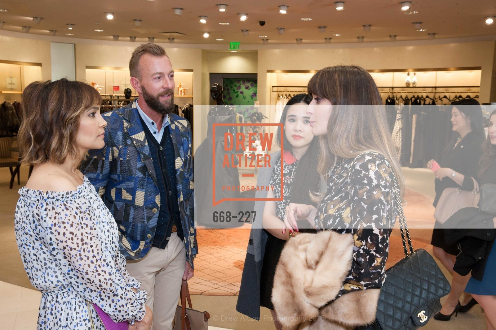 Lora DuBain, Michael Purdy, Khuyen Do, Mary Gonsalves Kinney, Keren Craig Personal Appearance for Marchesa Fall Trunk Show, Neiman Marcus, May 7th, 2015,Drew Altizer, Drew Altizer Photography, full-service agency, private events, San Francisco photographer, photographer california