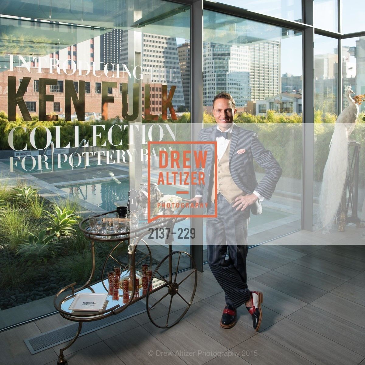 Ken Fulk, Ken Fulk Collection Arrival Party At The Battery, Battery. 717 Battery St, August 12th, 2015