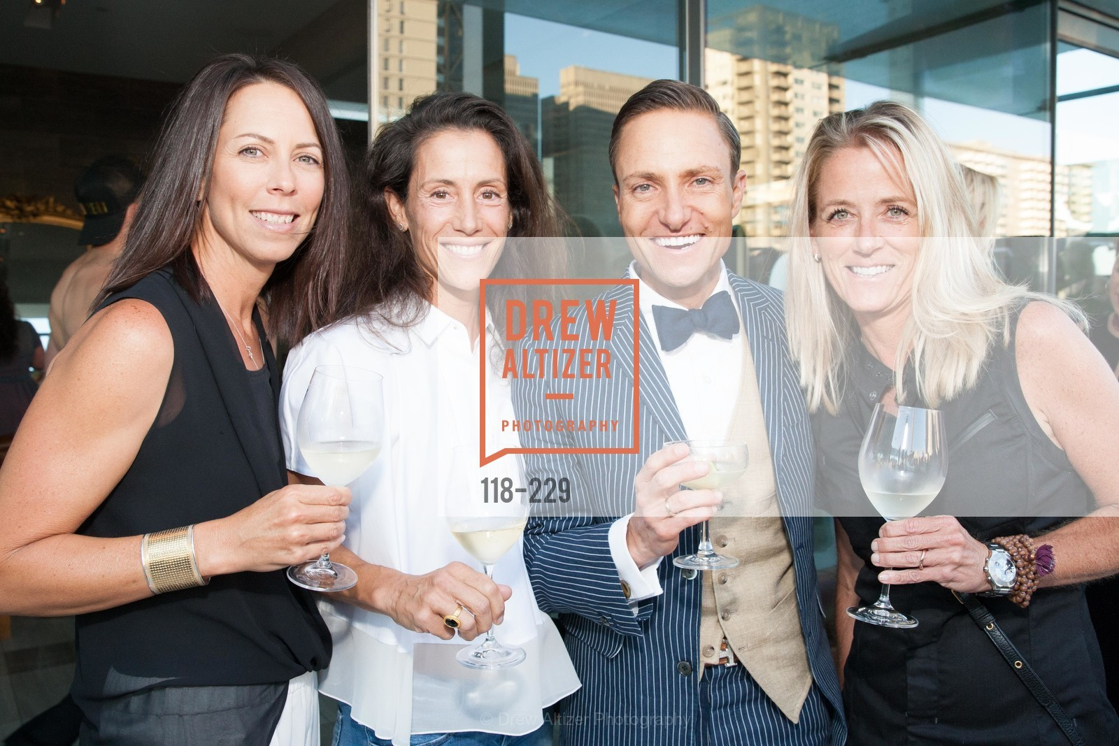 Eva Price, Ken Fulk, Sharon Aune, Ken Fulk Collection Arrival Party At The Battery, Battery. 717 Battery St, August 12th, 2015,Drew Altizer, Drew Altizer Photography, full-service event agency, private events, San Francisco photographer, photographer California