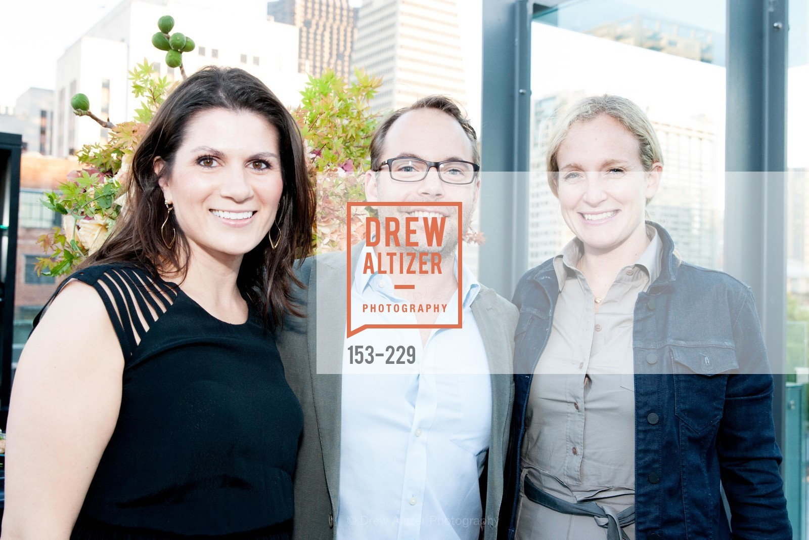 Tina Figone, Timothy Bentley, Danielle Ginach, Ken Fulk Collection Arrival Party At The Battery, Battery. 717 Battery St, August 12th, 2015,Drew Altizer, Drew Altizer Photography, full-service agency, private events, San Francisco photographer, photographer california