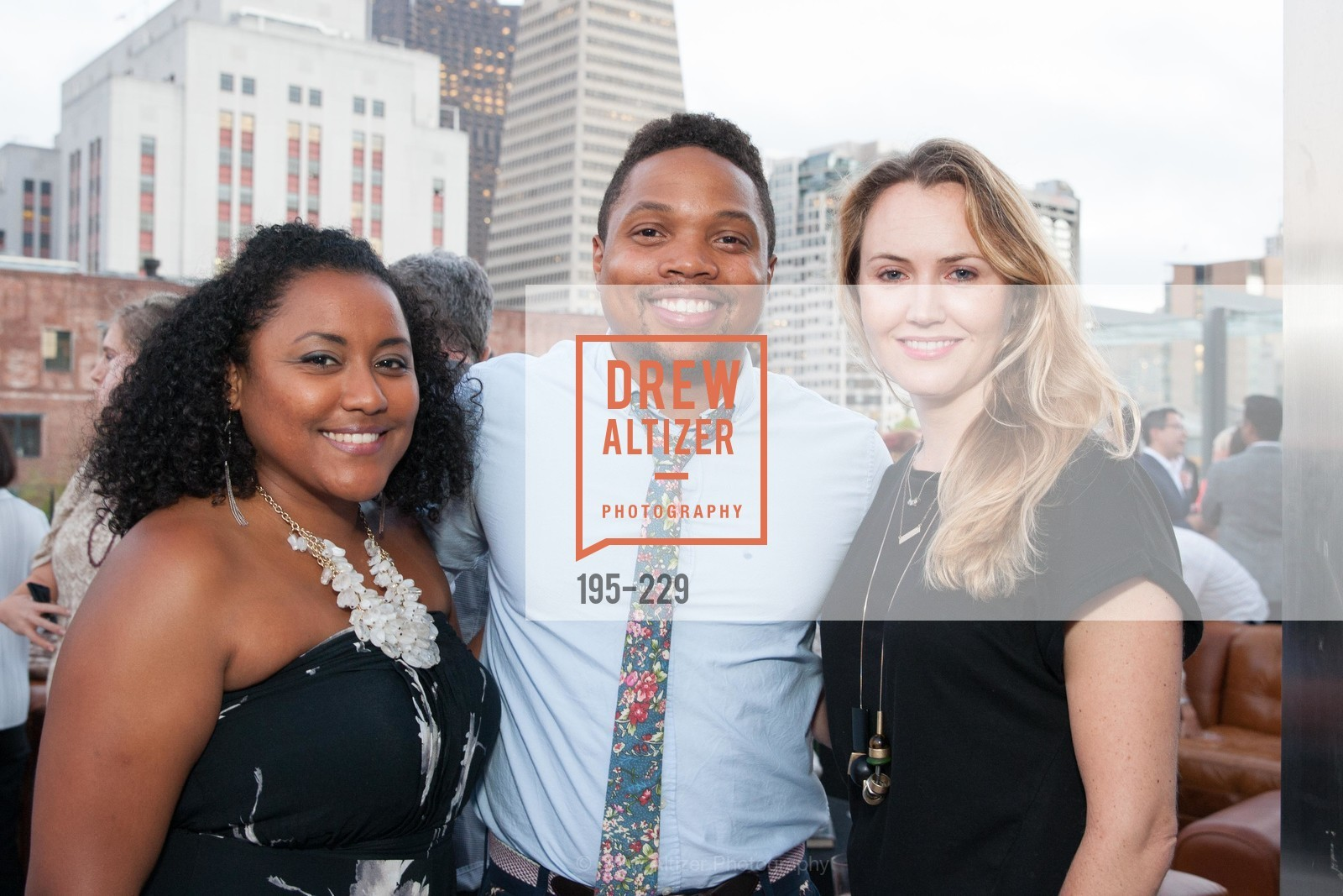 Tamara Broussard, Cory Bradley, Laura Peachworth, Ken Fulk Collection Arrival Party At The Battery, Battery. 717 Battery St, August 12th, 2015,Drew Altizer, Drew Altizer Photography, full-service event agency, private events, San Francisco photographer, photographer California