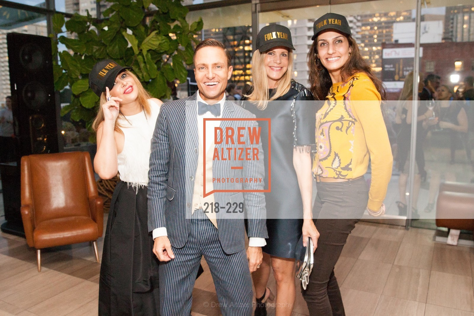 Brenda Zarate, Ken Fulk, Mary Beth Shimmon, Leyla Alhosseini, Ken Fulk Collection Arrival Party At The Battery, Battery. 717 Battery St, August 12th, 2015,Drew Altizer, Drew Altizer Photography, full-service agency, private events, San Francisco photographer, photographer california