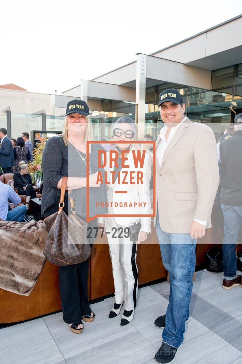 Lori Puccinelli Stern, Joy Venturini Bianchi, Peter Stern, Ken Fulk Collection Arrival Party At The Battery, Battery. 717 Battery St, August 12th, 2015,Drew Altizer, Drew Altizer Photography, full-service agency, private events, San Francisco photographer, photographer california