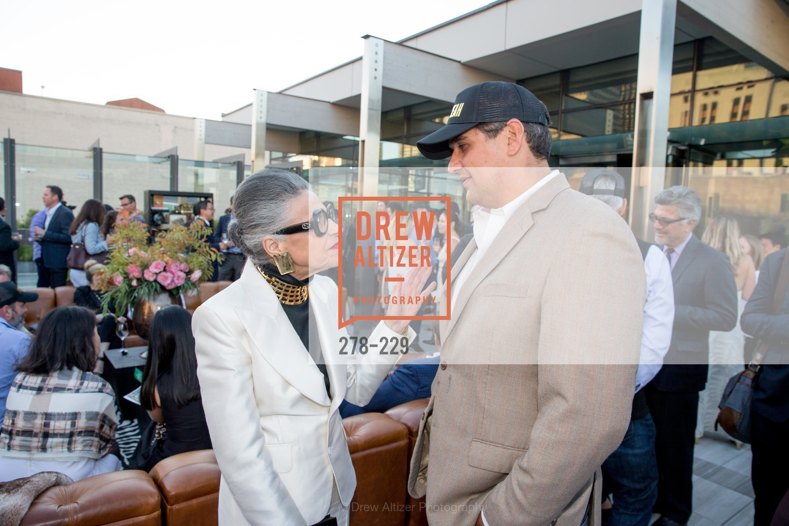 Joy Venturini Bianchi, Peter Stern, Ken Fulk Collection Arrival Party At The Battery, Battery. 717 Battery St, August 12th, 2015,Drew Altizer, Drew Altizer Photography, full-service agency, private events, San Francisco photographer, photographer california