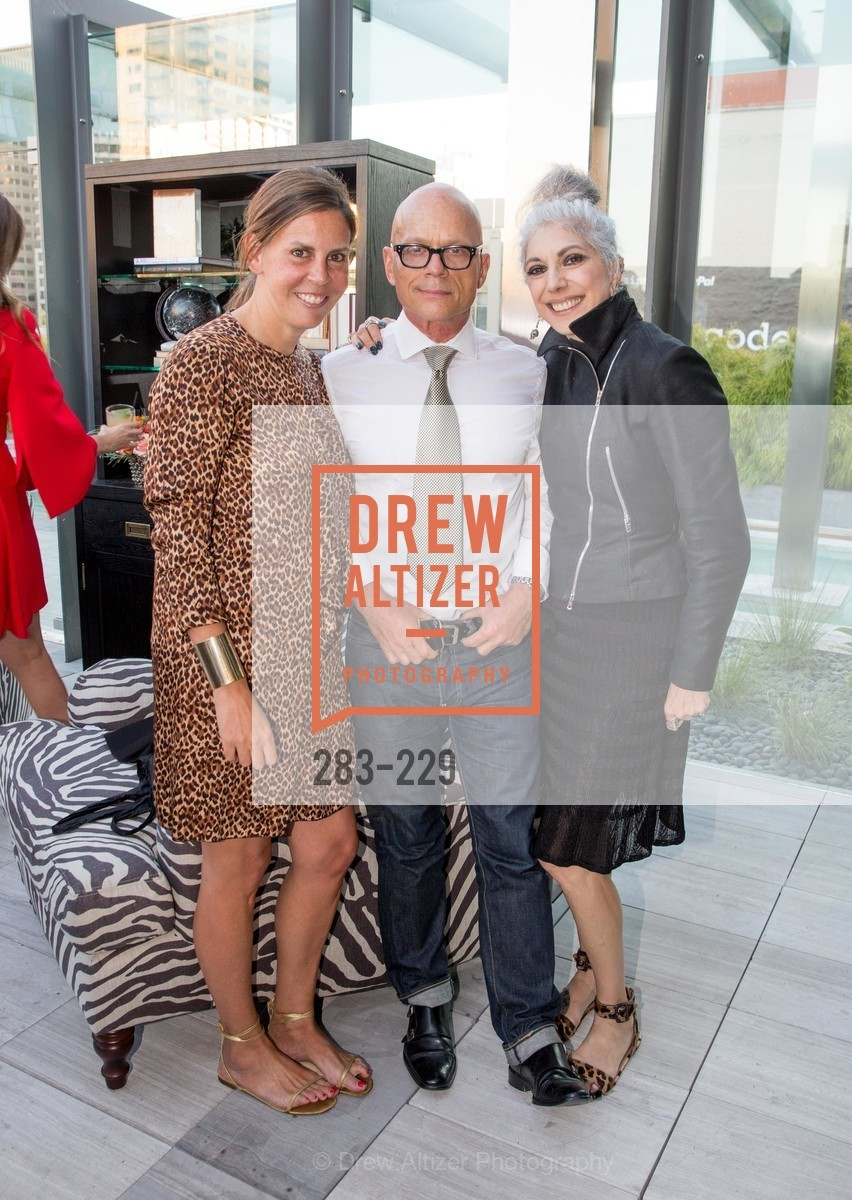 Anne Waterman, Kevin Sessums, Lauren Ezersky, Ken Fulk Collection Arrival Party At The Battery, Battery. 717 Battery St, August 12th, 2015,Drew Altizer, Drew Altizer Photography, full-service agency, private events, San Francisco photographer, photographer california