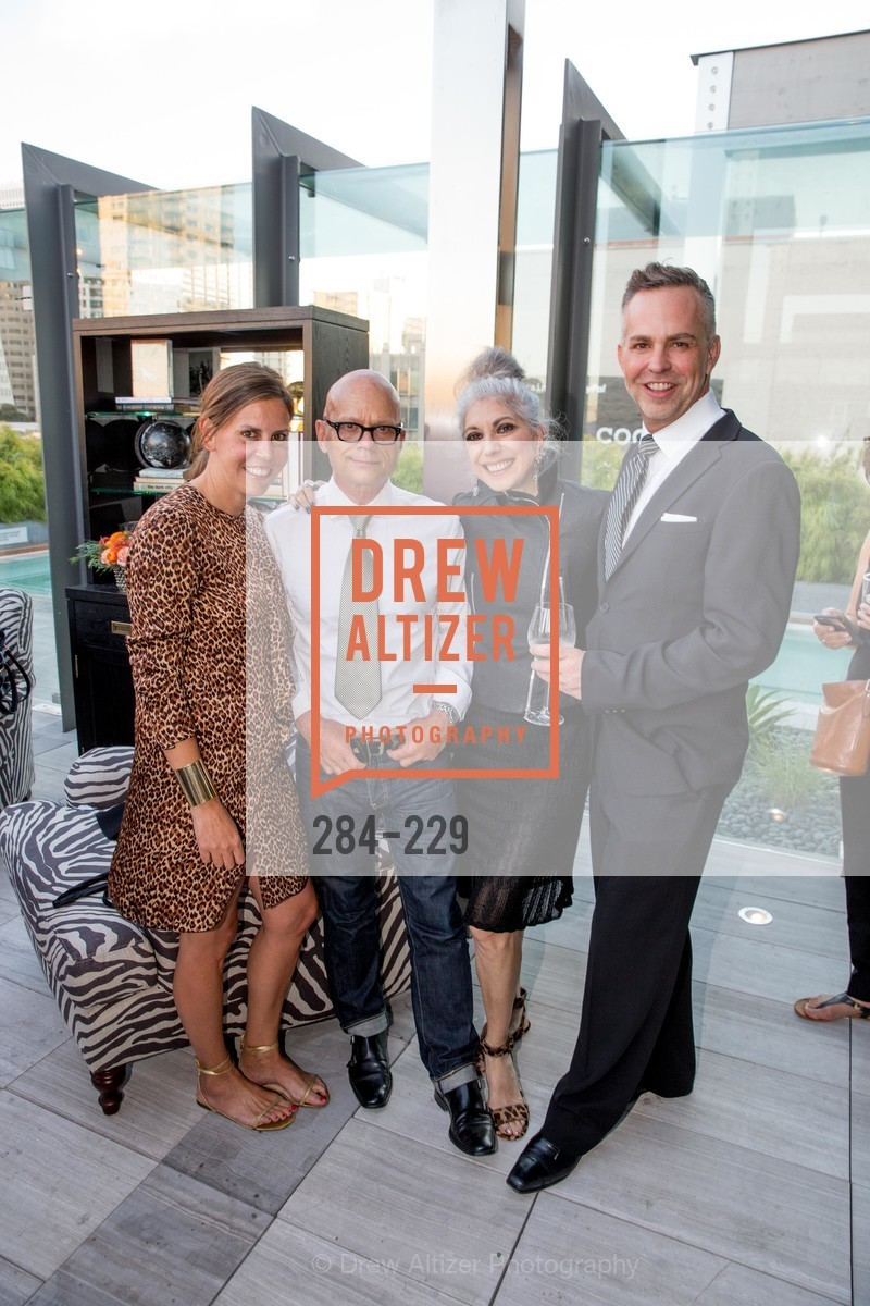 Anne Waterman, Kevin Sessums, Lauren Ezersky, Ken Fulk Collection Arrival Party At The Battery, Battery. 717 Battery St, August 12th, 2015,Drew Altizer, Drew Altizer Photography, full-service event agency, private events, San Francisco photographer, photographer California