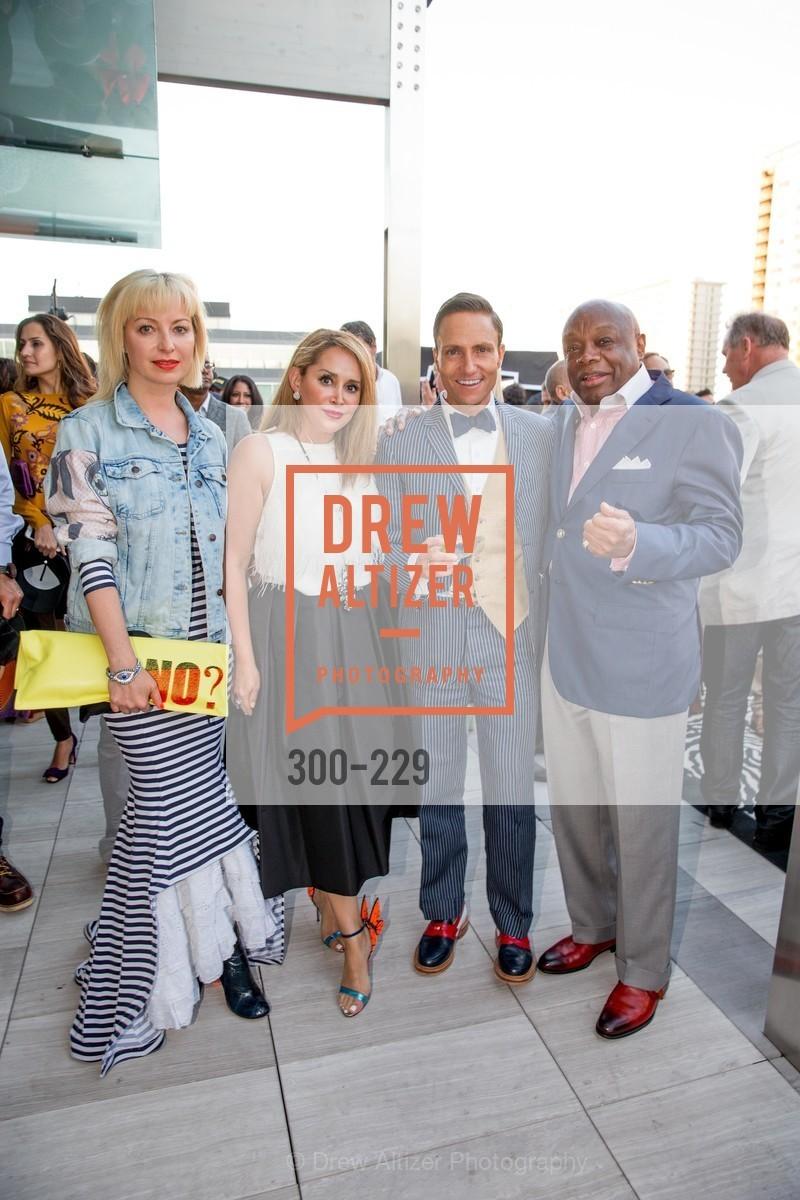 Sonya Molodetskaya, Brenda Zarate, Ken Fulk, Willie Brown, Photo #300-229
