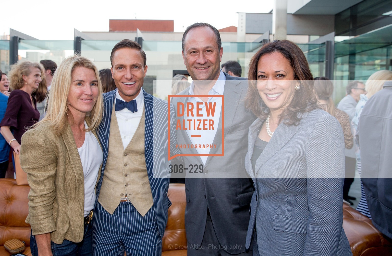 Summer Tompkins Walker, Ken Fulk, Kamala Harris, Ken Fulk Collection Arrival Party At The Battery, Battery. 717 Battery St, August 12th, 2015,Drew Altizer, Drew Altizer Photography, full-service agency, private events, San Francisco photographer, photographer california