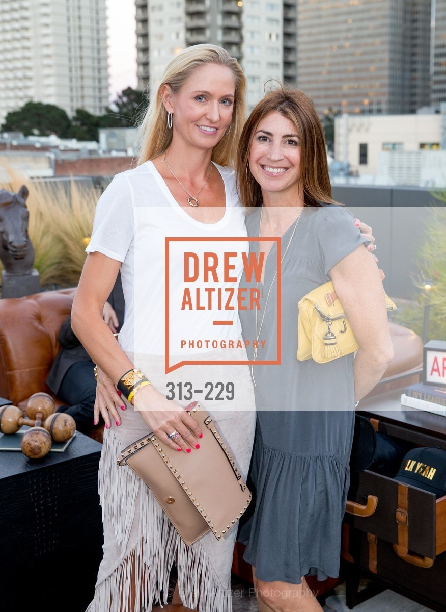 Jill Conn, Missy DelNegro, Ken Fulk Collection Arrival Party At The Battery, Battery. 717 Battery St, August 12th, 2015,Drew Altizer, Drew Altizer Photography, full-service agency, private events, San Francisco photographer, photographer california