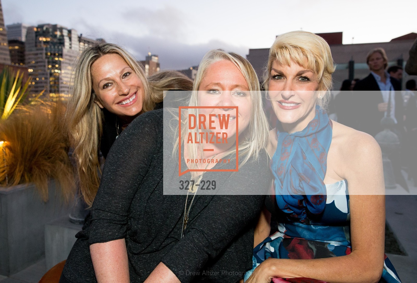 Carolyne Zinko, Lori Puccinelli Stern, Karen Caldwell, Ken Fulk Collection Arrival Party At The Battery, Battery. 717 Battery St, August 12th, 2015,Drew Altizer, Drew Altizer Photography, full-service agency, private events, San Francisco photographer, photographer california
