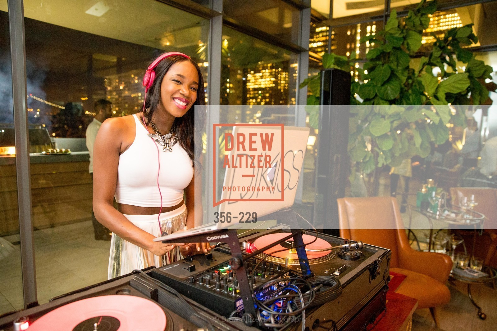 DJ Kiss, Ken Fulk Collection Arrival Party At The Battery, Battery. 717 Battery St, August 12th, 2015,Drew Altizer, Drew Altizer Photography, full-service agency, private events, San Francisco photographer, photographer california