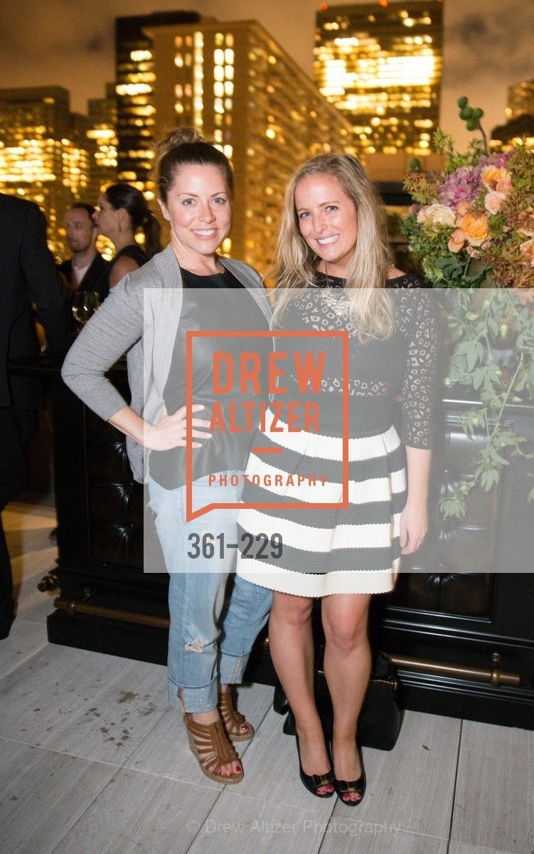 Caitlin Friel, Kelly McGonigle, Ken Fulk Collection Arrival Party At The Battery, Battery. 717 Battery St, August 12th, 2015,Drew Altizer, Drew Altizer Photography, full-service agency, private events, San Francisco photographer, photographer california