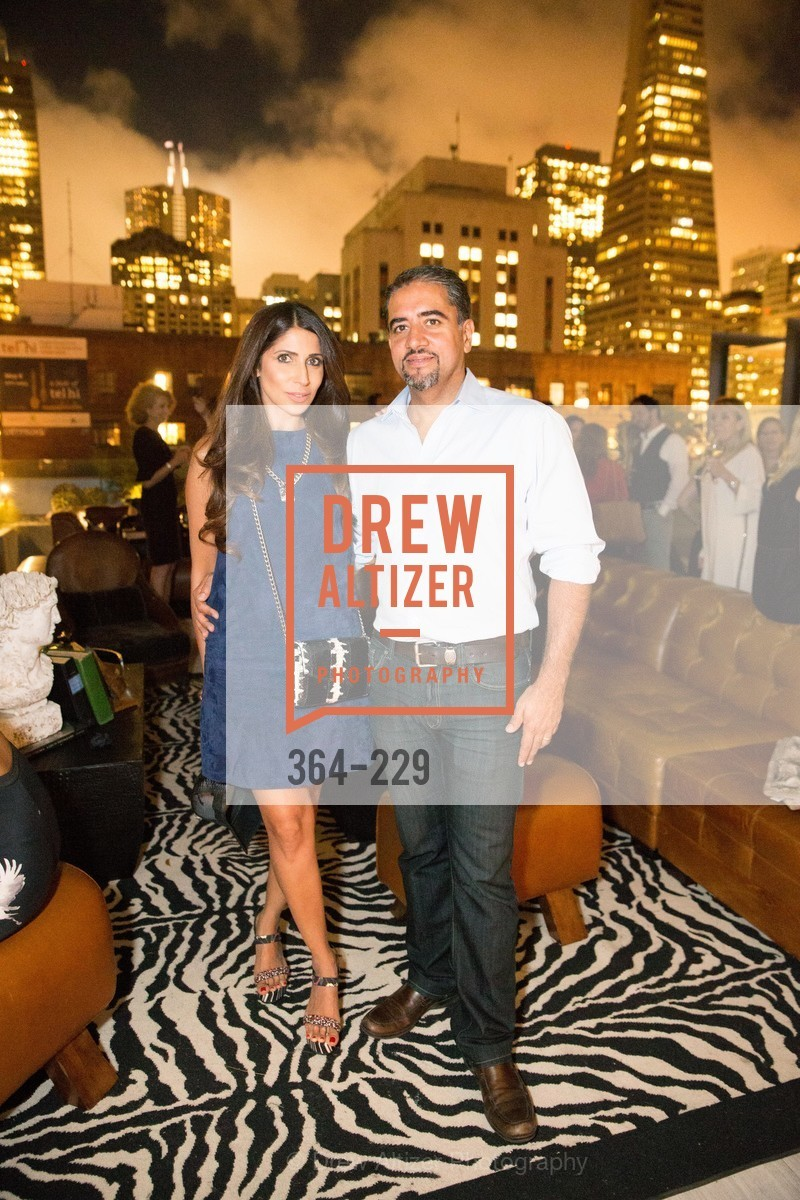 Sobia Shaikh, Nadir Shaikh, Ken Fulk Collection Arrival Party At The Battery, Battery. 717 Battery St, August 12th, 2015,Drew Altizer, Drew Altizer Photography, full-service agency, private events, San Francisco photographer, photographer california