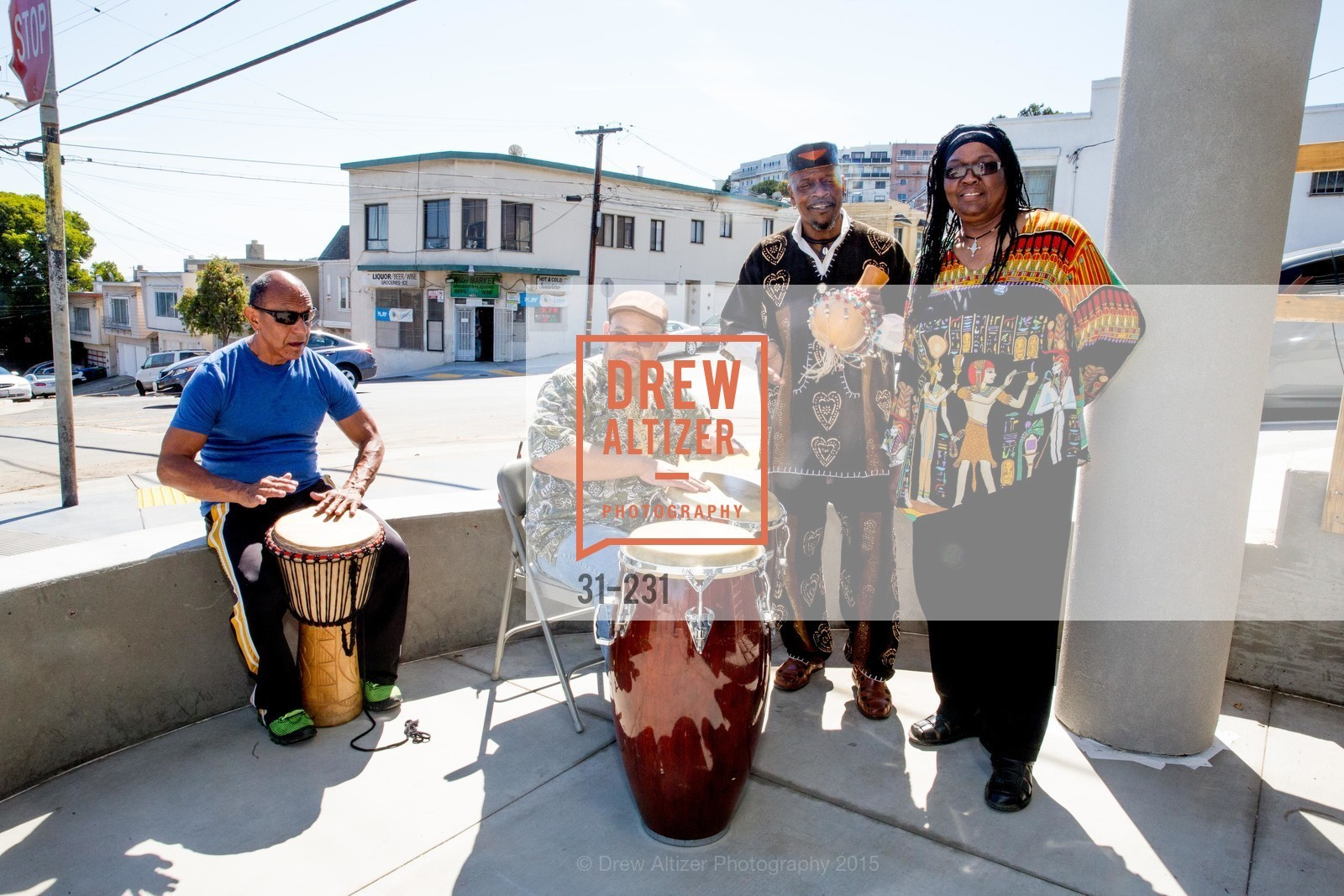 Performers, Willie L. Brown Middle School Ribbon Cutting Ceremony, Willie L. Brown Middle School. 2055 Silver Avenue, August 13th, 2015,Drew Altizer, Drew Altizer Photography, full-service agency, private events, San Francisco photographer, photographer california