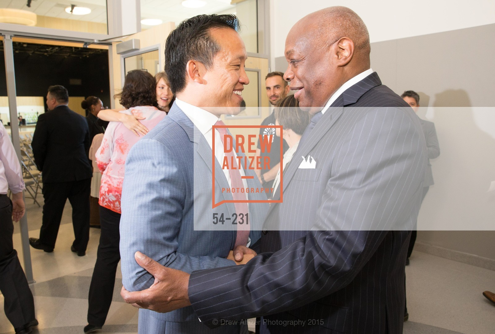 David Chu, Willie Brown, Willie L. Brown Middle School Ribbon Cutting Ceremony, Willie L. Brown Middle School. 2055 Silver Avenue, August 13th, 2015,Drew Altizer, Drew Altizer Photography, full-service agency, private events, San Francisco photographer, photographer california