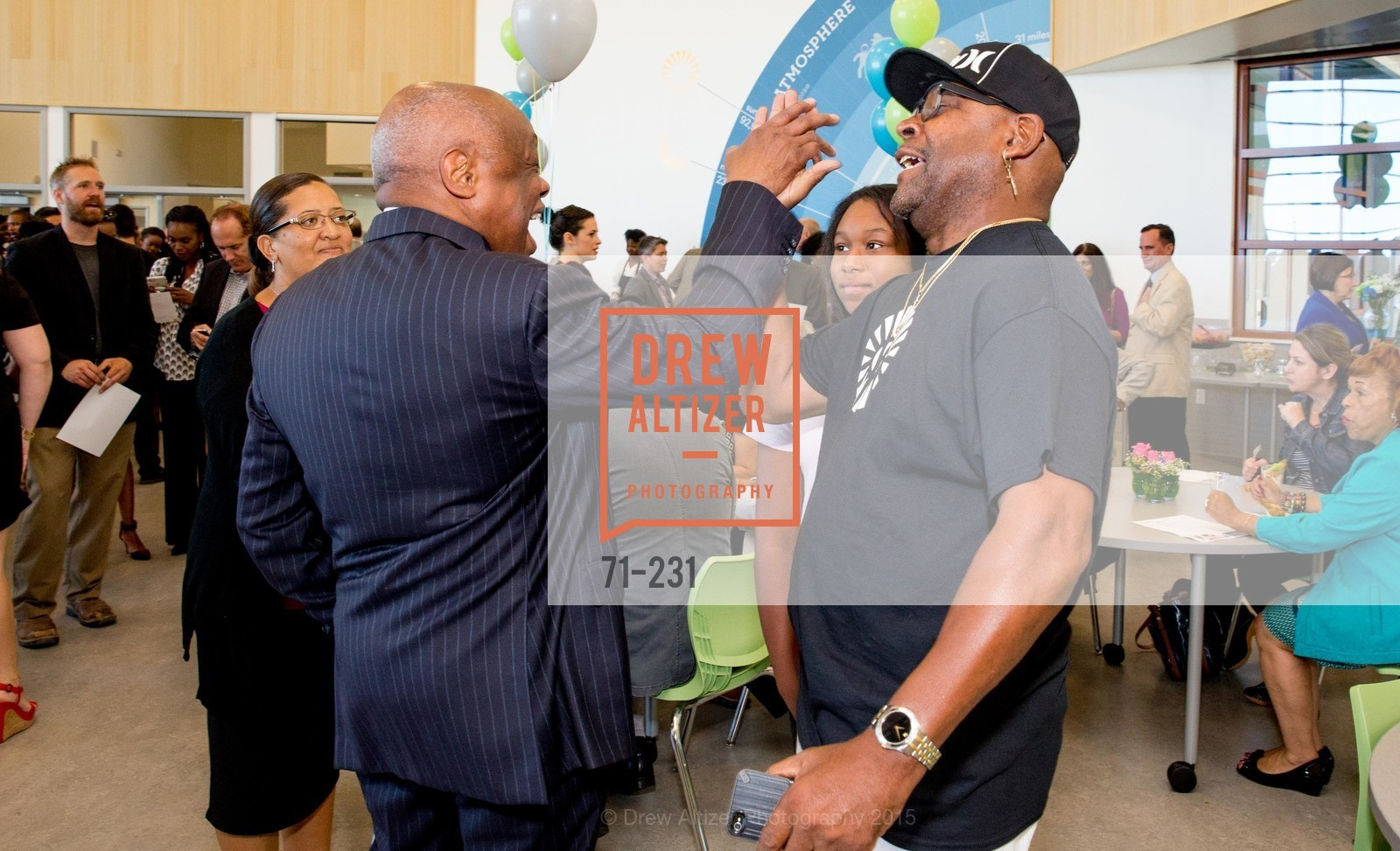 Willie Brown, Leah Anthony, Willie L. Brown Middle School Ribbon Cutting Ceremony, Willie L. Brown Middle School. 2055 Silver Avenue, August 13th, 2015,Drew Altizer, Drew Altizer Photography, full-service agency, private events, San Francisco photographer, photographer california
