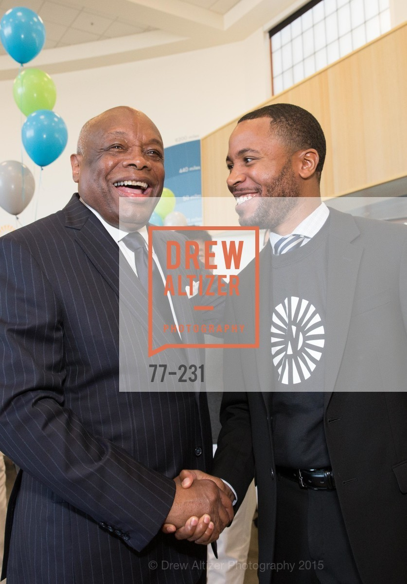 Willie Brown, Demetrius Hobson, Photo #77-231