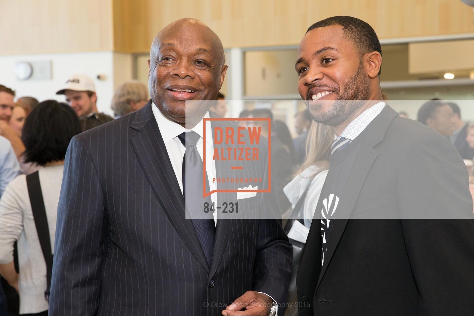 Willie Brown, Demetrius Hobson, Photo #84-231