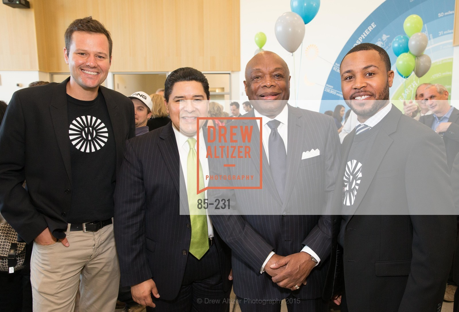 Richard Carranza, Willie Brown, Demetrius Hobson, Photo #85-231